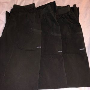 3 PAIR!! Jockey scrub pants.